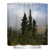 Hurricane Ridge Beauty Shower Curtain by Heidi Smith