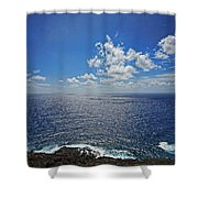 I Can See For Miles Shower Curtain by Cheryl Young