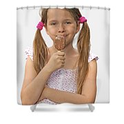 Ice Cream Shower Curtain by Joana Kruse