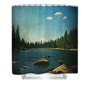 If It Could Be Just You And Me Shower Curtain by Laurie Search