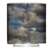 If The World Ends Today Shower Curtain by Laurie Search