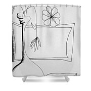 In Need Of Water Shower Curtain by Denny Casto