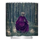 In The Woods Shower Curtain by Joana Kruse