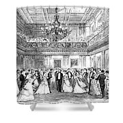 Inaugural Ball, 1869 Shower Curtain by Granger