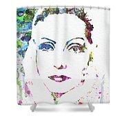 Ingrid Bergman  Shower Curtain by Naxart Studio