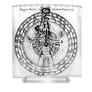 Integrae Naturae, 17th Century Shower Curtain by Science Source