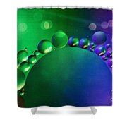 Intergalactic Space 4 Shower Curtain by Kaye Menner