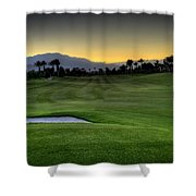 Jack Nicklaus Golf Course Shower Curtain by Jay Hooker