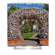 Jackson Hole Shower Curtain by Robert Bales