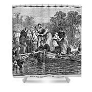 Jamestown: Women Shower Curtain by Granger