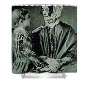 Jane Pierce Shower Curtain by Photo Researchers