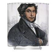 Jean-francois Champollion Shower Curtain by Granger