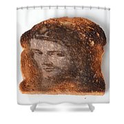 Jesus Toast Shower Curtain by Photo Researchers, Inc.