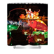 Jiang Tai Gong Fishing Shower Curtain by Semmick Photo