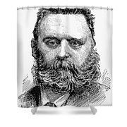Johann Joseph Most Shower Curtain by Granger