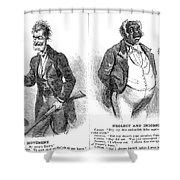 John Brown Cartoon, 1859 Shower Curtain by Granger
