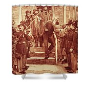 John Brown: Execution Shower Curtain by Granger