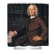 John Harrison, English Inventor Shower Curtain by Photo Researchers