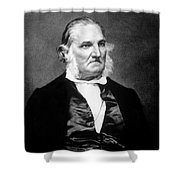 John James Audubon, French-american Shower Curtain by Science Source