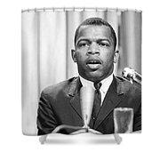 John Lewis (1940- ) Shower Curtain by Granger