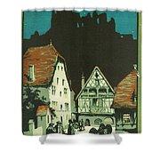 Kaysersberg Alsace Shower Curtain by Georgia Fowler