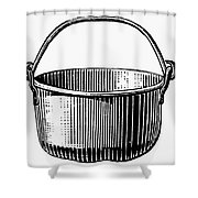 Kettle Shower Curtain by Granger