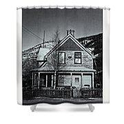 King Street Shower Curtain by Priska Wettstein
