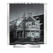 King Street Shower Curtain by Priska Wettstein