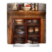 Kitchen - The Cooling Cabinet Shower Curtain by Mike Savad