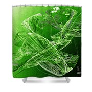 Krypton Lace Shower Curtain by Andee Design