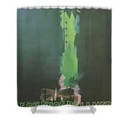 La Silence De La Mer Shower Curtain by Nomad Art And  Design