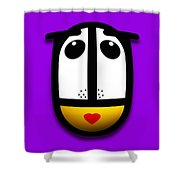 Ladymouse Shower Curtain by Charles Stuart