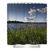 Lake View Shower Curtain by Gary Eason