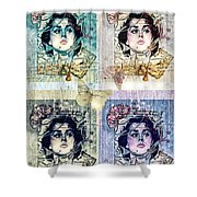 Languissant Shower Curtain by Mo T