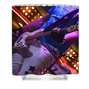 Laying It Down Shower Curtain by Bob Christopher
