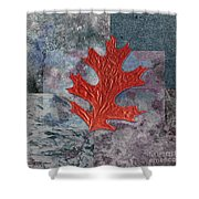 Leaf Life 01 - T01b Shower Curtain by Variance Collections