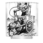 LEAGUE OF NATIONS, 1919 Shower Curtain by Granger