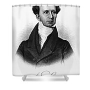 Levi Lincoln (1749-1820) Shower Curtain by Granger