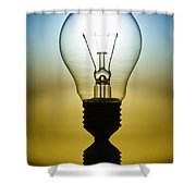 Light Bulb Shower Curtain by Setsiri Silapasuwanchai