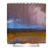 Lightning Striking Longs Peak Foothills 7 Shower Curtain by James BO  Insogna