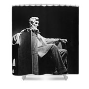 Lincoln Memorial Shower Curtain by Granger