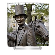 Lincoln Statue, 2008 Shower Curtain by Granger