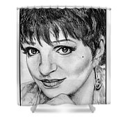 Liza Minnelli In 2006 Shower Curtain by J McCombie