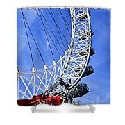 London Eye Shower Curtain by Elena Elisseeva