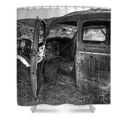 Long Forgotten Shower Curtain by Bob Christopher