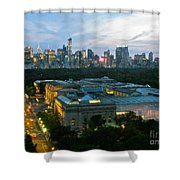 Looking South Nyc Shower Curtain by Randi Shenkman