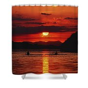 Lough Leane, Killarney, Co Kerry Shower Curtain by The Irish Image Collection