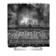 Loughborough Town Hall Shower Curtain by Yhun Suarez