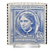 Louisa May Alcott (1832-1888) Shower Curtain by Granger
