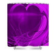 Love . A120423.279 Shower Curtain by Wingsdomain Art and Photography